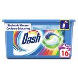 Dash Allin1 Couleur Lessive En Capsules 16Lavages