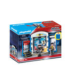 Playmobil City Action - 70306 - Police Station Play Box 4+