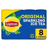 Lipton Iced Tea Bruisende Ijsthee Original 8 x 33 cl