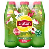 Lipton Iced Tea Ijsthee Witte Perzik 6 x 50 cl