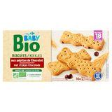 Carrefour Baby Bio Biscuits aux Pépites de Chocolat dès 18 Mois 200 g