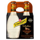 Schweppes Premium Mixers Ginger Beer & Chile 12 x 200 ml