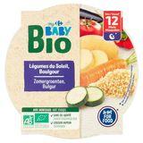 Carrefour Baby Bio Légumes du Soleil, Boulgour dès 12 Mois 230 g