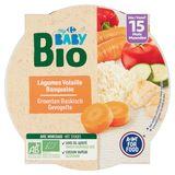 Carrefour Baby Bio Légumes Volaille Basquaise dès 15 Mois 250 g