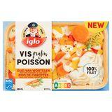 Iglo Gratin de Poisson Duo de Carottes 380 g