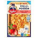 Iglo Gratin de Poisson Tomates et Mozzarella 380 g