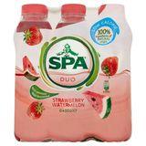 SpaDuo Aardbei - Watermeloen Niet Bruisend PET 6 x 50 cl