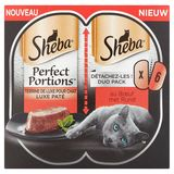 Sheba Perfect Portions au Bœuf Duo Pack 6 x 37.5 g