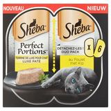 Sheba Perfect Portions au Poulet Duo Pack 6 x 37.5 g
