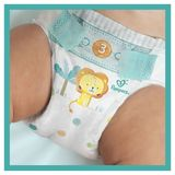 Pampers Baby-Dry Taille 7, 18Langes, Jusqu'À 12h De Protection, 15kg+