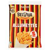 Lutosa wordt Belviva - Allumettes Frieten 1 kg