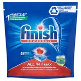 Finish Powerball All in 1 Max 45 Tablettes 720 g