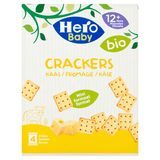 Hero Baby Bio Crackers Fromage 12+ Mois 4 x 20 g