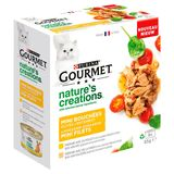 PURINAGOURMET™ Nature's Creations™ Mini Bouchées Volaille 8 x 85 g