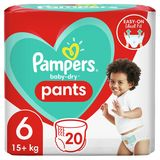 Pampers Baby-Dry Pants Couches-Culottes Taille6, 20Culottes, 15kg+