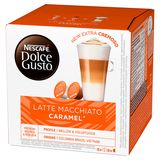 Nescafé Dolce Gusto Latte Macchiato Karamelsmaak 16 Capsules 145.6 g