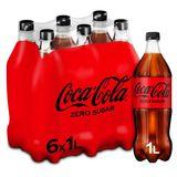 Coca-Cola Zero Sugar 6 x 1 L