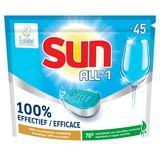 Sun All-in One Vaatwastabletten Regular 45 Tabs