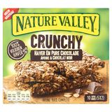 Nature Valley Crunchy Haver en Pure Chocolade 10 Repen 5 x 42 g