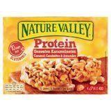 Nature Valley Protein Gezouten Karamelnoten 4 Repen 4 x 40 g