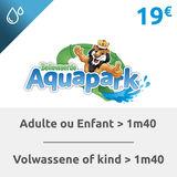 Bellewaerde Aquapark  Billet adulte ou enfant (>1m40)
