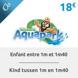 Bellewaerde Aquapark Billet enfant ( entre 1m et 1m40)