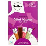 Galler Assortiment Mini Bâtons Melk 15 x 12 g