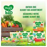 Olvarit Bio Petit Pot Repas Bébé - Carotte, Bœuf et Pomme de Terre 8 Mois 2 x 200 g