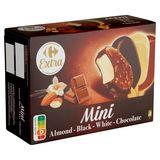 Carrefour Extra Mini Almond - Black - White - Chocolate 287 g