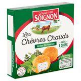 Soignon Les Chèvres Chauds Herbes de Provence 2 x 2 x 25 g