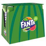 Fanta No Sugar Watermeloen Smaak 6 x 250 ml