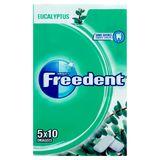 Freedent Eucalyptus zonder Suikers 50 Stuks 5 x 14 g