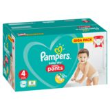 Pampers Baby-Dry Pants T4, 108 Couches-Culottes, Faciles À Enfiler