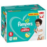 Pampers Baby-Dry Pants T6, 84 Couches-Culottes, Faciles À Enfiler