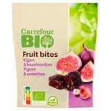 Carrefour Bio Fruit Bites Figues & Noisettes 75 g