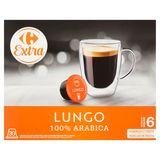 Carrefour Extra Lungo 30 x 7 g