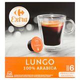 Carrefour Extra Lungo 16 x 7 g