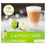 Carrefour Extra Cappuccino 16 Capsules 170.4 g