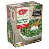 IGLO Epinards à la Crème Mini-Portions 500 g