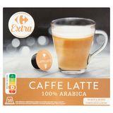 Carrefour Extra Caffe Latte 16 x 9.7 g