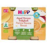 HiPP Biologisch Appel Banaan Babykoek 6+ Maanden 2 x 190 g