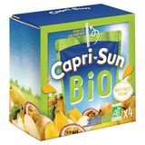 Multifruits Capri-Sun Bio Yellow Pouch 4 x 0.20 L