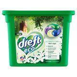 Dreft Eco Ultimate Care 4in1 Caps Witte Bloem 15 Wasbeurten 15 x 26 g