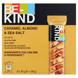 BE-KIND Caramel Almond & Sea Salt 3 x 30 g