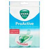 Vicks Bonbons ProActive Keelpastilles met Eucalyptus +Cafeïne 72 g