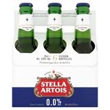 Stella Artois 0.0% Alc Flessen 6 x 25 cl