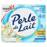 Yoplait Perle de Lait Vanillesmaak 4 x 125 g