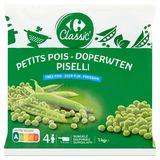 Carrefour Classic' Doperwten Zeer Fijn 1 kg