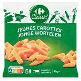 Carrefour Classic' Jonge Wortelen 1 kg