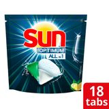 Sun Optimum Vaatwascapsules Lemon 18 Tabs